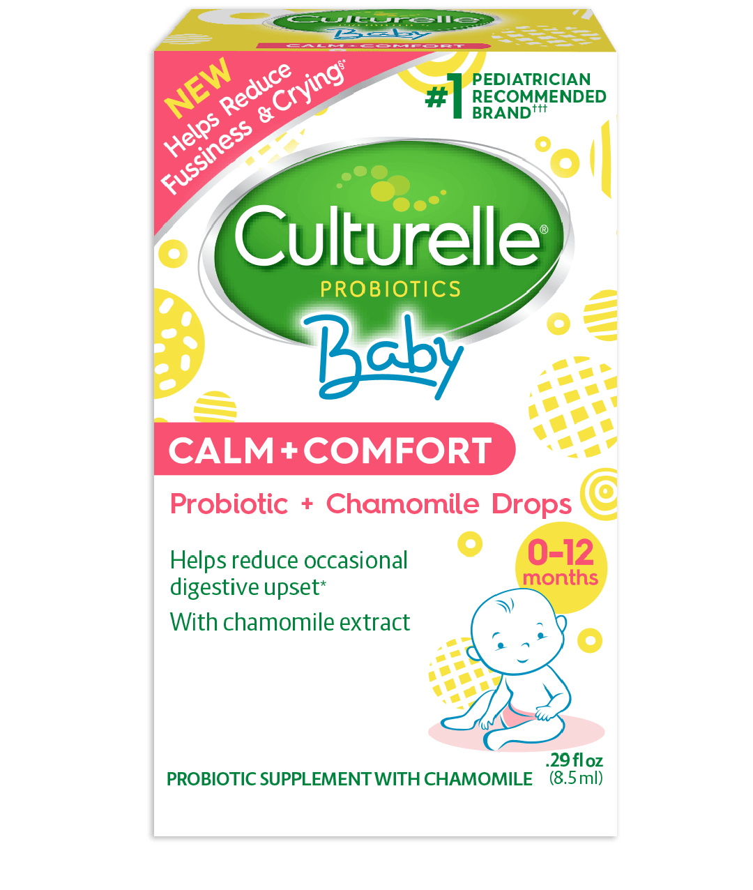 Culturelle baby calm and comfort product box