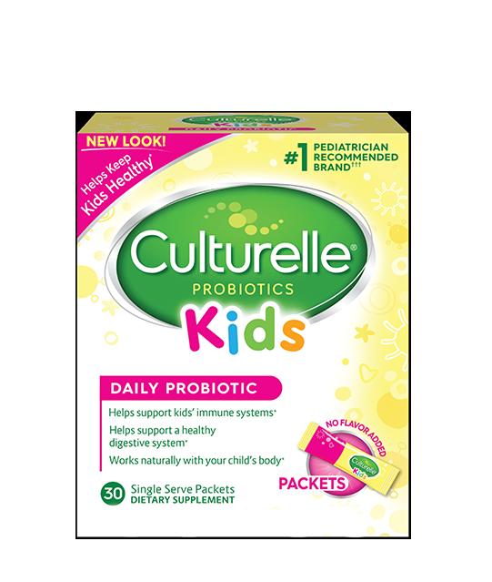 Culturelle® Probiotics Kids Daily Probiotic Packets