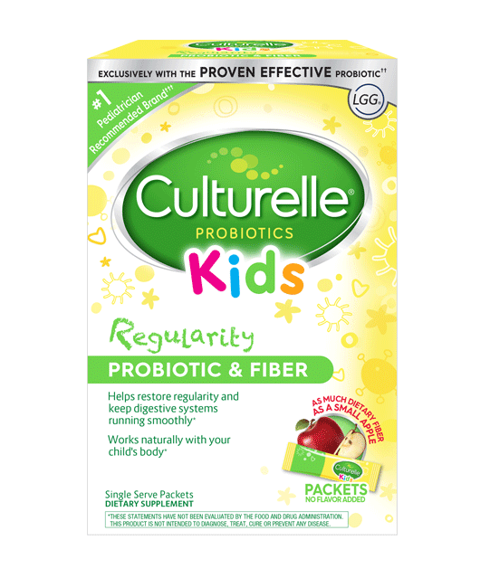 Culturelle® Probiotics Kids Regularity Packets