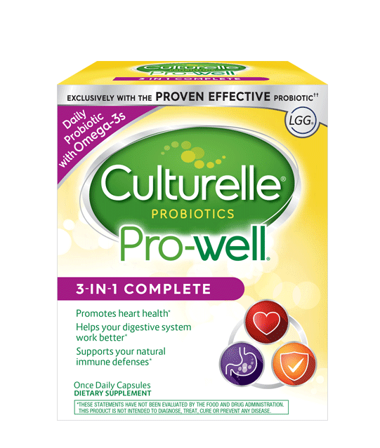 Culturelle® Probiotics Pro-Well® 3-in-1 Complete