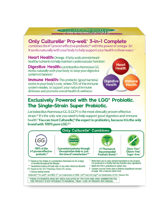 Culturelle® Pro-Well® 3-in-1 Complete Box