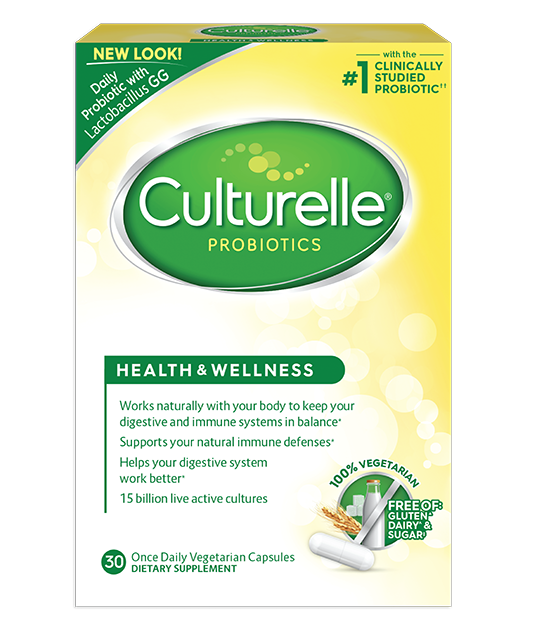 Culturelle® Probiotics Vegetarian Health & Wellness