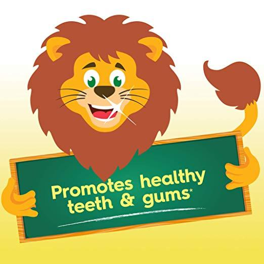 Promotes healthy teeth & gums