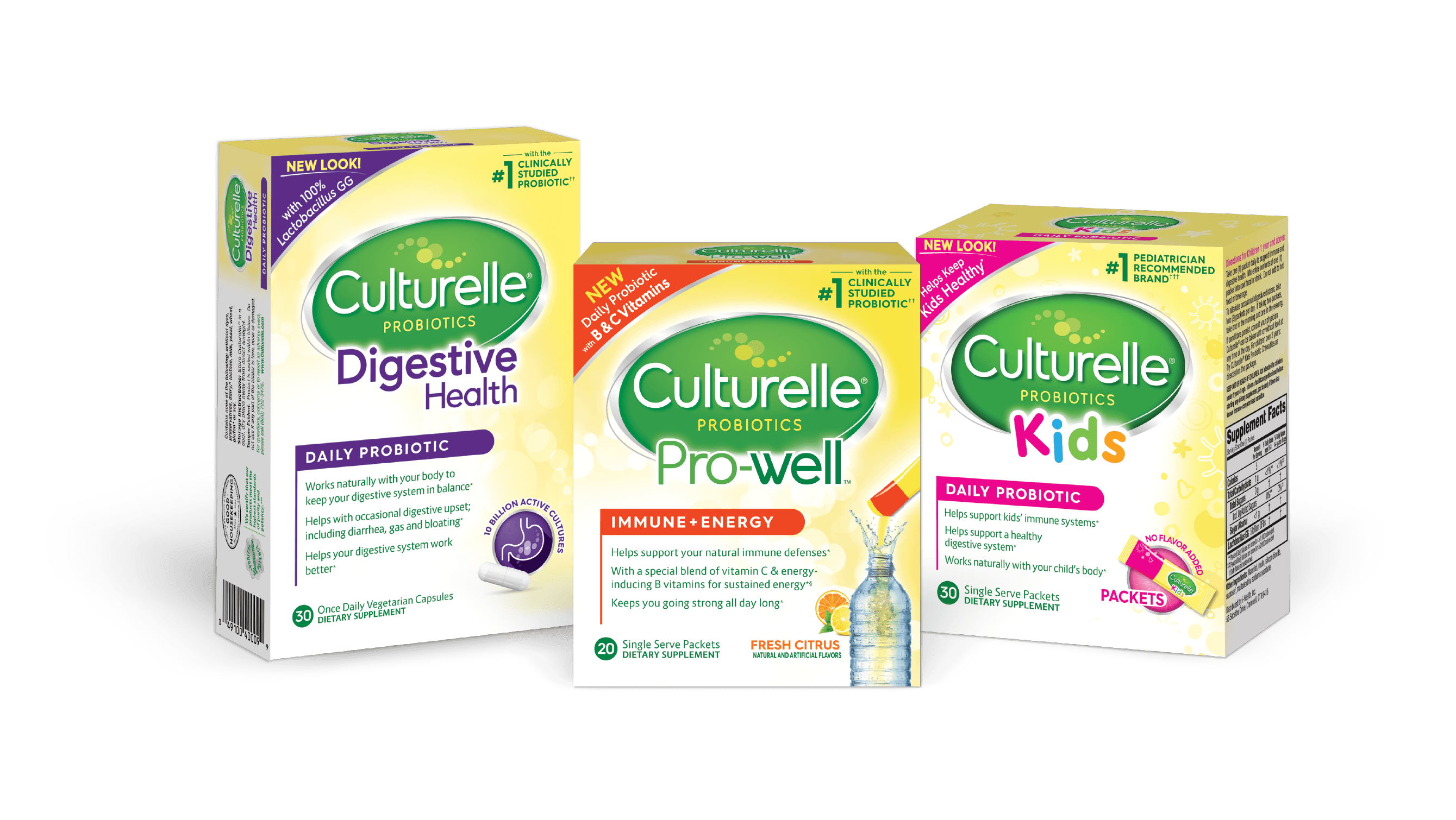 Culturelle® Probiotics products