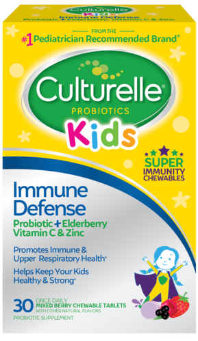 Culturelle<sup>®</sup> Kids Immune Defense Chewables front of package