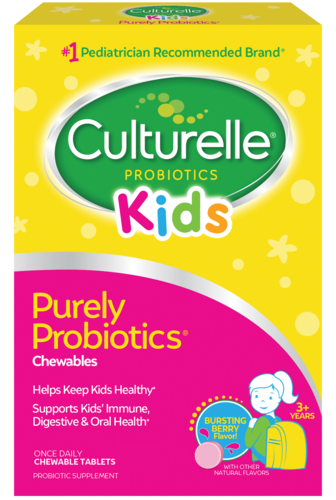 Culturelle® Probiotics Kids Purely Probiotics Berry Chewables