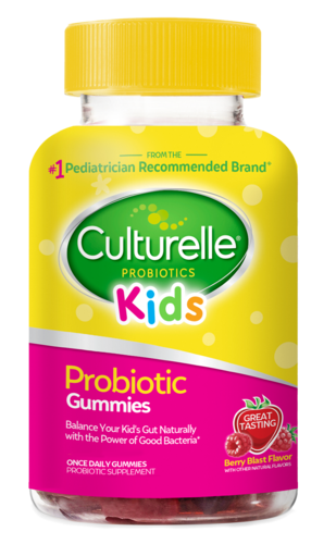 Culturelle® Kids Probiotic Gummies front of bottle