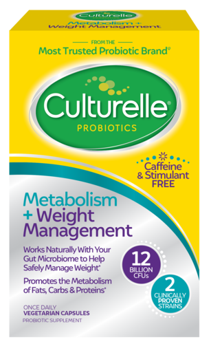 Culturelle<sup>®</sup> Metabolism + Weight Management Front of Package