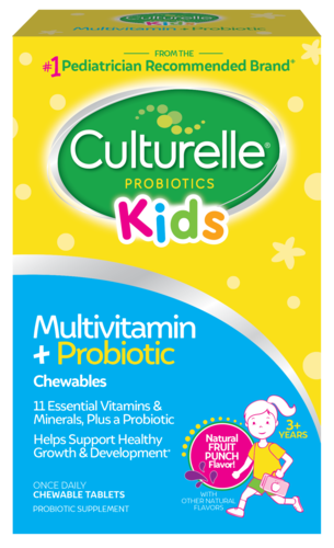 Culturelle® Kids Multivitamin + Probiotic Product package front