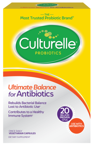 Culturelle® Ultimate Balance for Antibiotics front of package