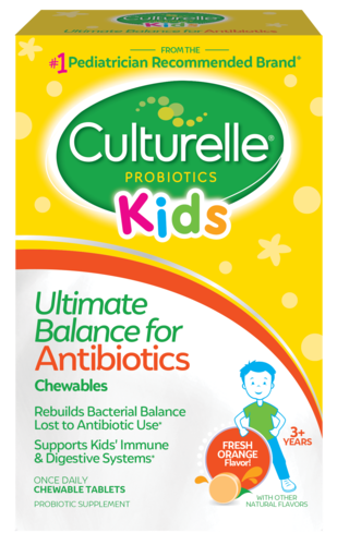 Culturelle® Kids Ultimate Balance for Antibiotics front of package