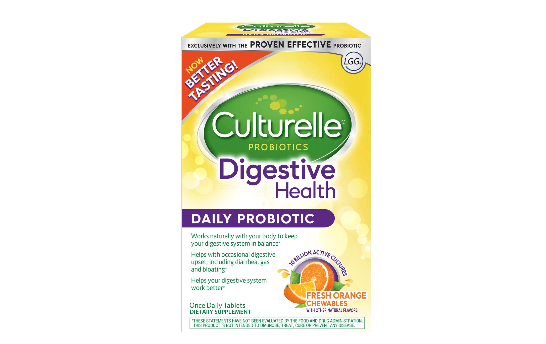 Culturelle® Probiotics Digestive Health Daily Probiotic Fruit Chewables