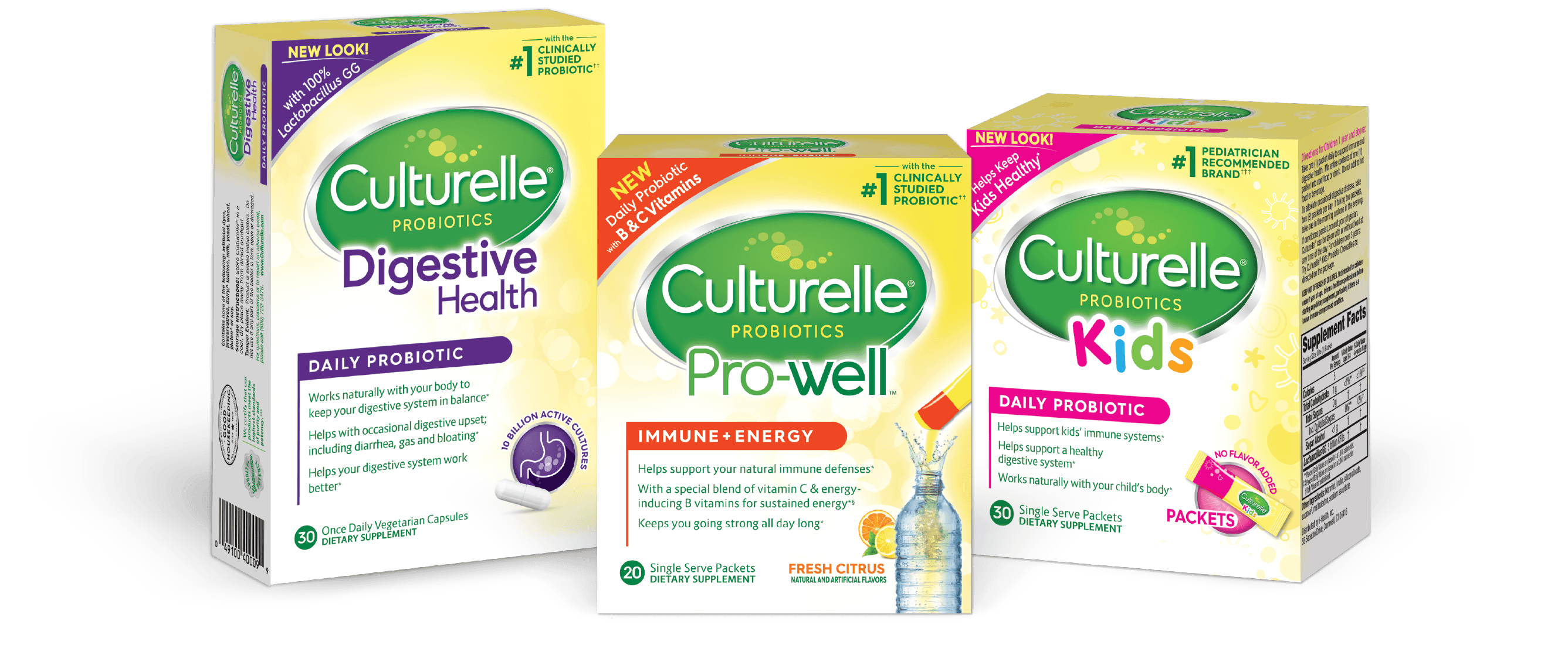 Three Culturelle® products